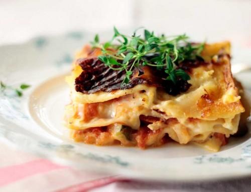 Lasagne – kastikkeissa sen salaisuus!