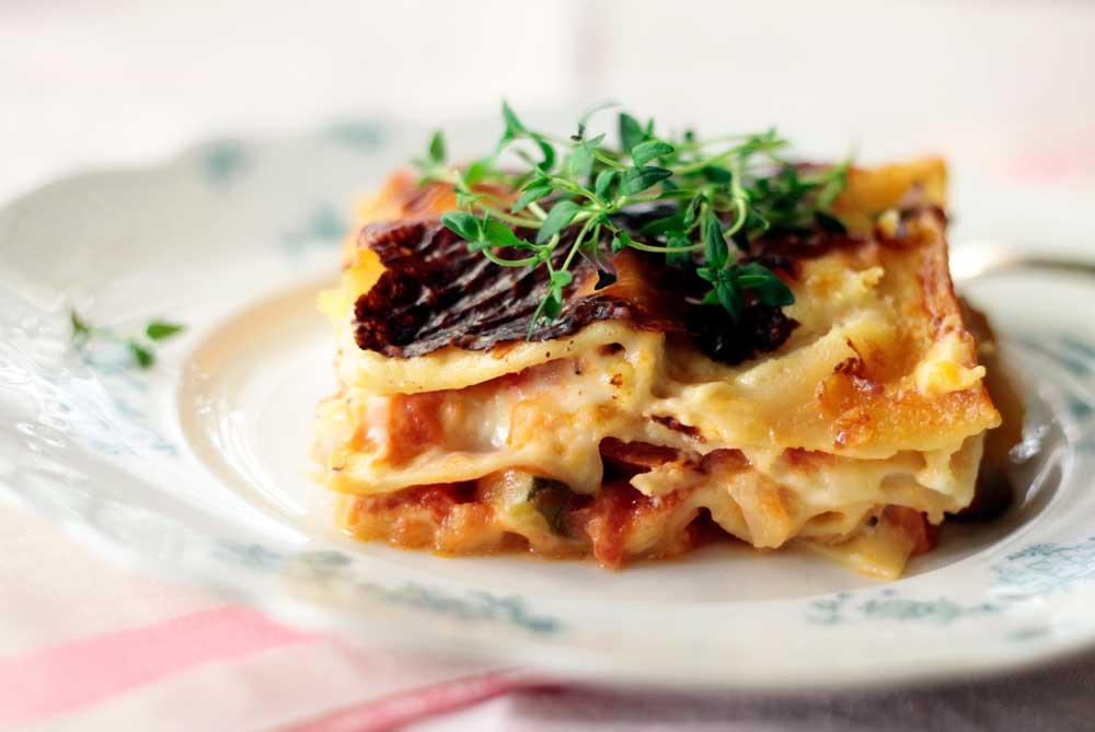 Lasagne on italialainen maailmanvalloittaja.